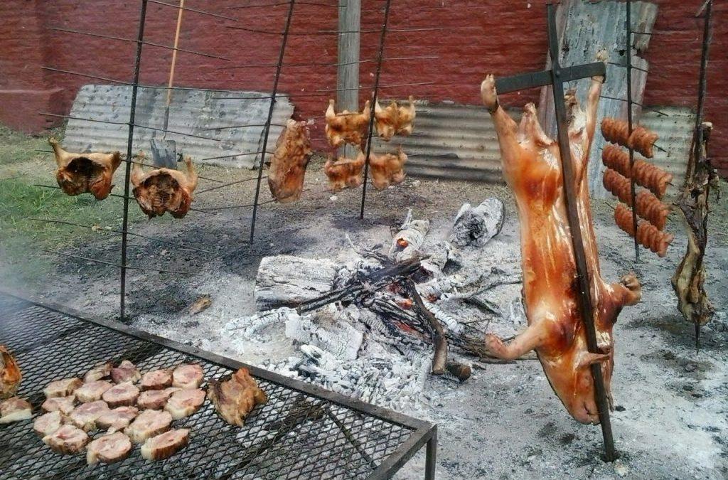 el asado argentino y la forma de asar en España