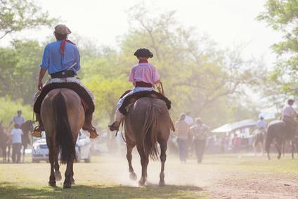 Gauchos, Fiesta de la Tradicion Argentina