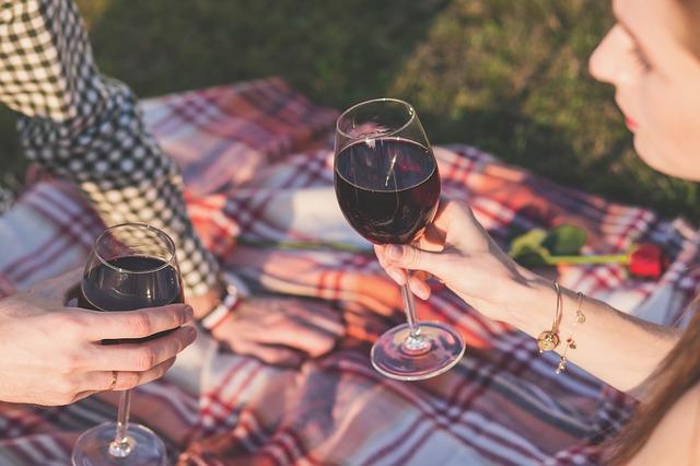 reunion con amigos, tomando vino y un servicio de Brasas y Sabores, catering madrid