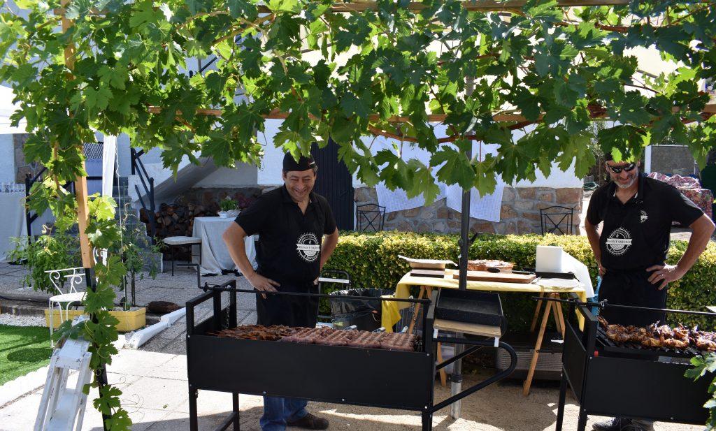 catering barbacoa casa rural